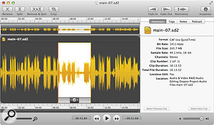 This little app is worth having having around even if you own another, more heavyweight audio editor.