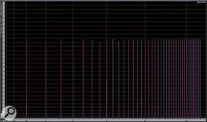 16. AAC looks like it measures up much better in its 320kbps CBR format. However, increasing the analyser resolution (not shown) does reveal an arguably inaudible increased noise floor. But how many consumers are downloading or encoding material to their iPods in the 320kbps AAC format?