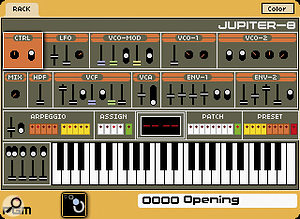 The Origin's Jupiter 8 template.