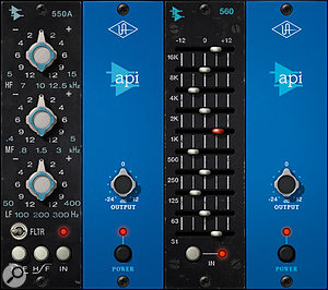 550 and 560 EQs added to UAD line-up