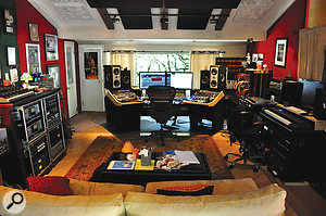 Dave Way's mix room is based around an SSL Matrix controller.