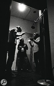 The band worked by laying down drum and bass tracks live, then overdubbing vocals and other instruments — including handclaps!