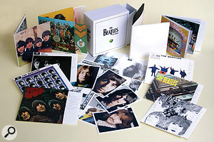 The fruits of the project are collected in two box sets. The Beatles In Mono is afaithful reproduction of all the original mono mixes, while the stereo set has been remastered with modern tastes in mind.