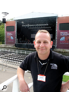 Phil Laycock, owner of Yorkshire-based sound and lighting company P&L.