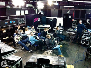 If you plan on taking the education route into the live-sound industry, it's important to choose a course that offers plenty of hands-on training.