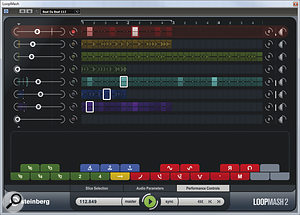 Loopmash 2 makes it easier to create useful results and adds some nifty new performance controls that make the instrument more interactive.