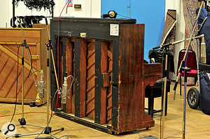 The team took full advantage of Abbey Road's extensive collection of mics and other vintage gear.