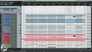 An example of the duo's hip-hop style drum editing and layering, from the song 'Tangled Up'.