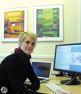 Rachel van Besouw of the University of Southampton's Interactive Music Awareness Programme.