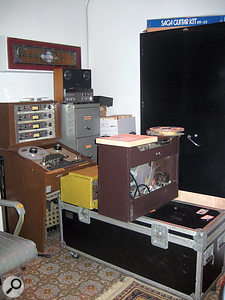 Another view of Studio C, showing the amp that Wayne Moss used on Roy Orbison's 'Pretty Woman'.