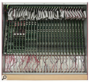 A peak underneath the bottom panel reveals the neat, PCB-per-channel construction.