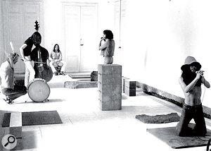 Can's original studio was aroom in acastle called Schloss Norvenich.