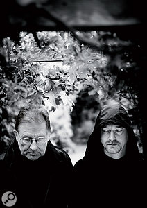 Irmin Schmidt (left) and Jono Padmore.