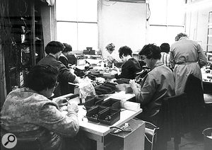 The WEM factory in Offley Road.
