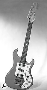 The Watkins Rapier was only the second electric guitar to be mass–produced in the UK.