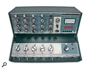 The WEM Audiomaster PA mixer.