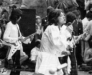 The Rolling Stones at Hyde Park.