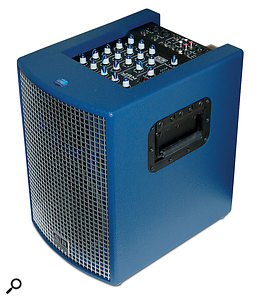 For smaller gigs, acoustic instrument amplifiers will often serve well as compact PA systems, as many of them incorporate simple mixer functionality and can accommodate both mic and instrument inputs.