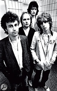 The Only Ones: left to right, Alan Mair, John Perry, Mike Kellie and Peter Perrett.