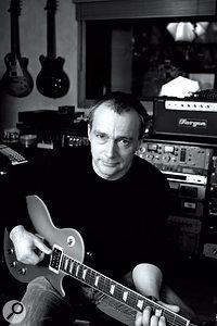 Mark Saunders at Beat360 Studios in New York City, 2006.
