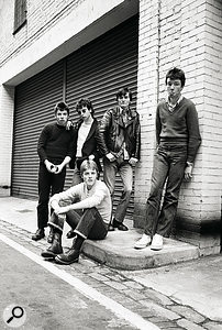 The Undertones in 1978. From left to right: Damian O'Neill, John O'Neill, Billy Doherty (front), Feargal Sharkey and Michael Bradley.