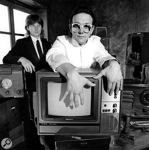 The Buggles: Geoff Downes (left) and Trevor Horn.