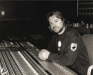 Neill King in the studio, mid‑1990s.