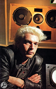 Engineer John Fryer at the time of the recording of 'Pump Up The Volume'.