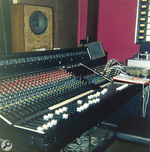 The Soundcraft Series Two mixer used to record 'Teenage Kicks'.