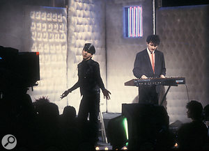 Soft Cell performing on Top Of The Pops.