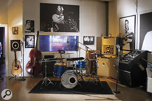 The live room at Sun Studio today.