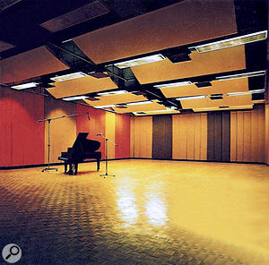 Studio 3 live room, from the Whitfield Street catalogue.