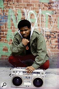 Afrika Bambaataa in New York, early 1980s.