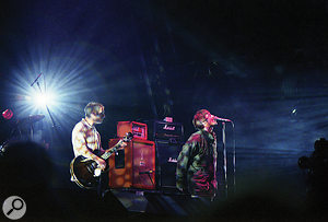 1995 was abusy year for Oasis, with the band taking time out from recording to play Glastonbury.