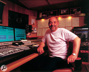 Gary Langan as he was when photographed for an SOS feature on Jeff Wayne's War Of The Worlds in 2005.