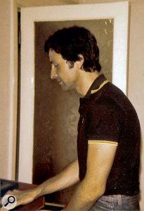 Producer John Collins, 1980.
