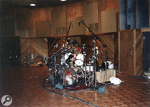 An entire 24-track machine was needed just for Lars Ulrich's kit.