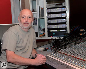 Simon Humphrey at The ChairWorks in Yorkshire, where he is the resident producer.