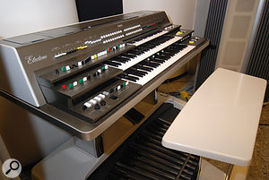 The Yamaha GX1 'Dream Machine' used to great effect on 'Pastime Paradise'.