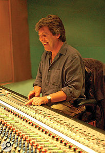 David Hentschel at Abbey Road today.