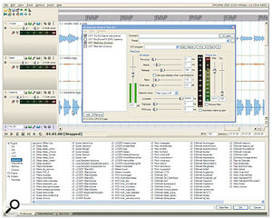 In <em>Reaper,</em> a MIDI track is little different from an audio one, and DX, DXi, VST and VST Instrument plug-ins can all co-exist in the same effects chain. A huge number of bundled plug-ins is also included from both Cockos (like the compressor with side-chain capability shown here) and Jesusonic (see the FX Browser list across the bottom of this screenshot).