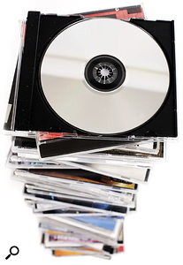 Even though volume CD packaging these days is cheap, record companies typically make a royalty deduction of 20 to 25 percent deduction for it — which might look like a bit of a rip-off...
