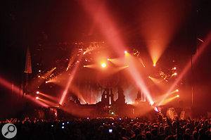 Touring can be expensive, especially if you like to be as over the top as legendary rockers Iron Maiden. If you go on tour to promote a record release, don't forget that the cost of tour support will be recouped by the label from your royalty, so it's a good idea to cap what can be spent.