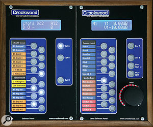 The controller's front panel puts all functions within easy reach, and features clear labelling.
