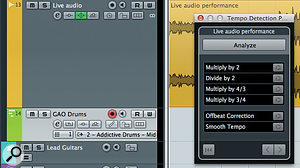 The Tempo Detection Panel can create a map of tempo changes within an audio performance with a single click — but the results are not always as good as with a DIY approach.