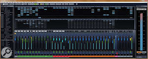 If you have adual-screen setup, you obviously have more space to play with, but the mixer is still complex, and you can still get an awful lot out of configuring the Mix Console(s) to taste.