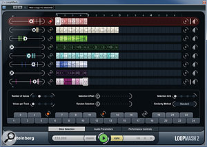 LoopMash 2 includes anumber of new tools for creative loop mangling.