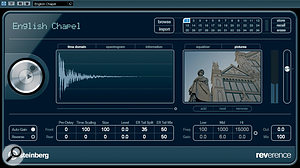 Reverence is anew VST3 convolution reverb that sounds remarkably decent for aSteinberg reverb! Here you can see it being used on a5.1 audio track.