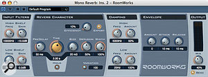 Since SX3, Cubase users have had, in Roomworks, a much better and more versatile reverb plug-in than previously.