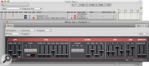 Using Software Synths & Samplers
